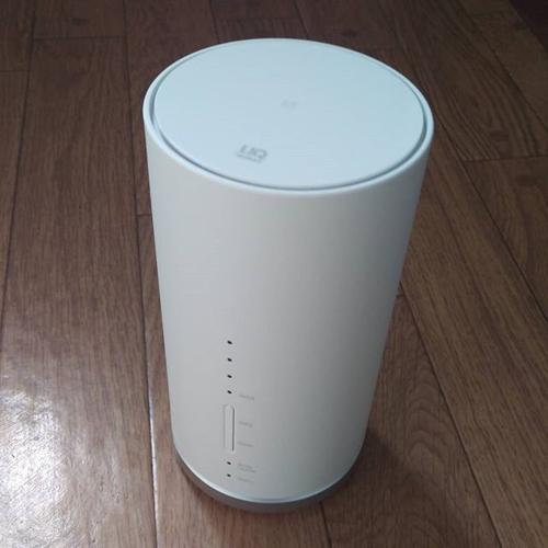 ふっふっふ。数年ぶりに UQ WiMAX 再導入。